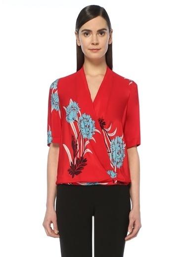 Diane Von Furstenberg Bluz Kırmızı